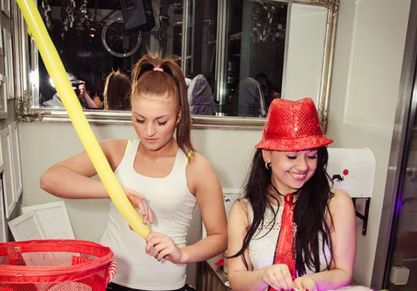 balonikowe party na 18