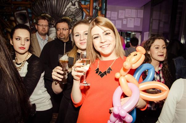 balonikowe party impreza warszawa wynajem