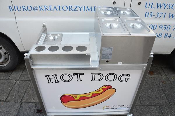 stanowisko z hot dogami wynajem kreatorzyimprez
