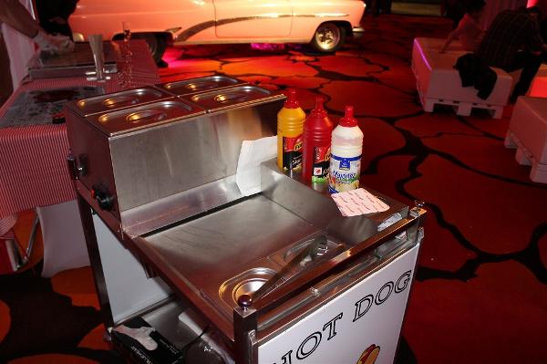 stanowisko z hot dogami event wynajem