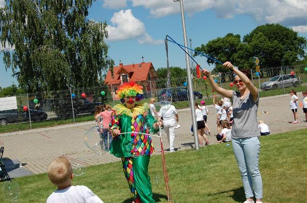 klaun do przedszkola