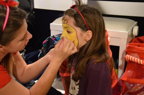 malowanie twarzy dla dzieci