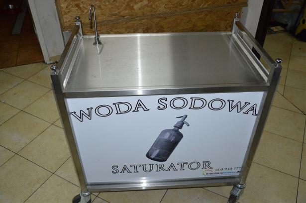 saturator z wodą sodową kreatorzyimprez