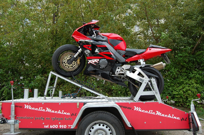 symulator motocykla wynajem event