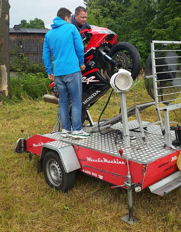 symulator motocykla warszawa