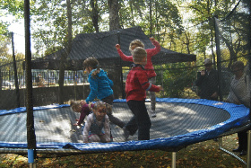 trampolina wynajem