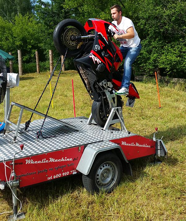 symulator motocykla wynajem motozaur
