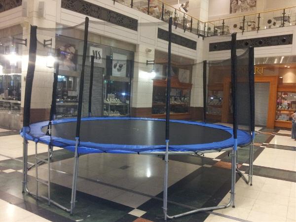 trampolina warszawa