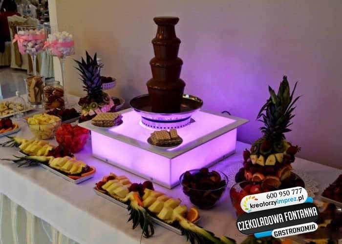 czekoladowa fontanna