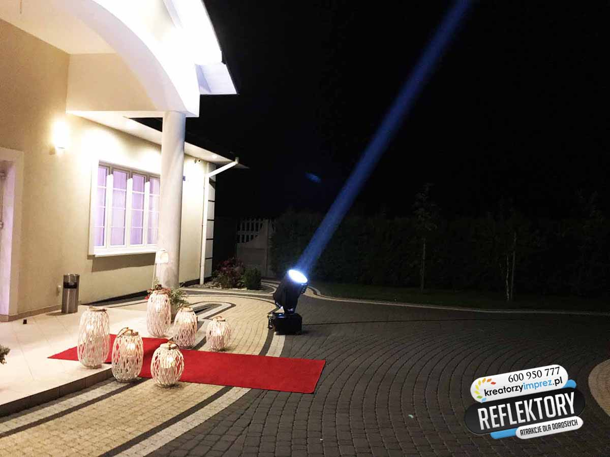 Reflektor na imprezie