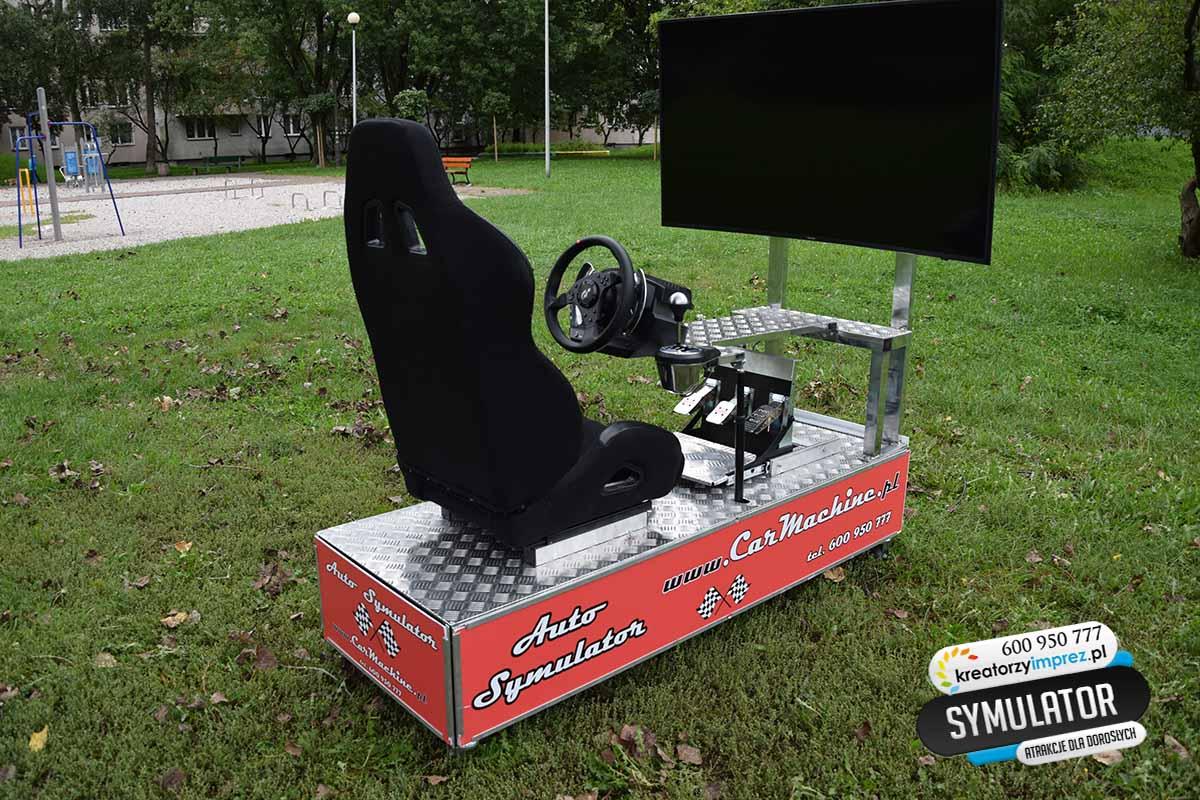 symulator samochodowy
