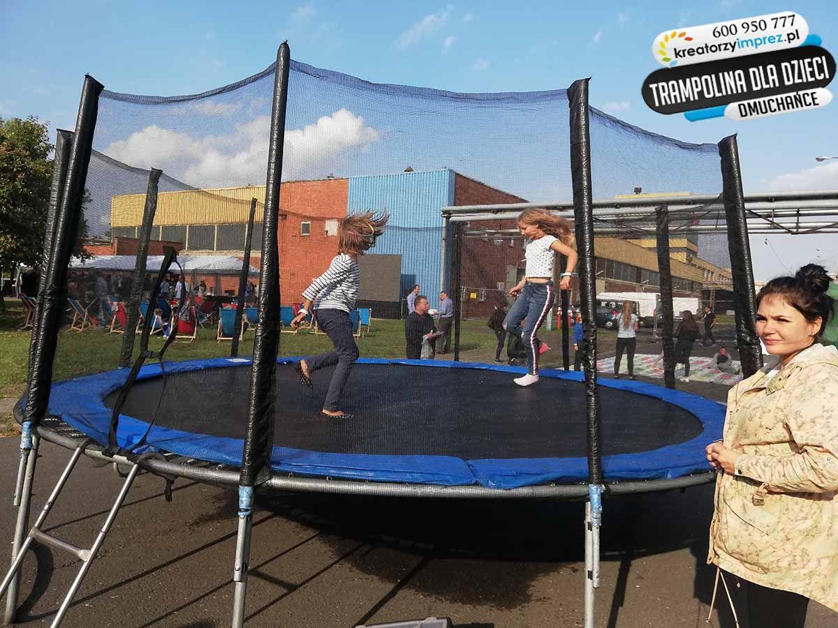 trampolina ogrodowa