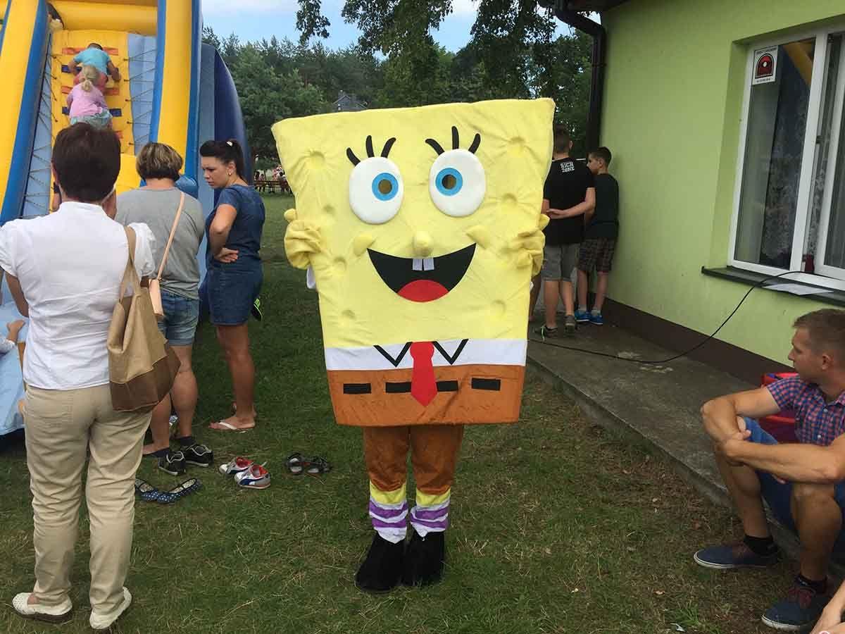 Maskotka Sponge Bob