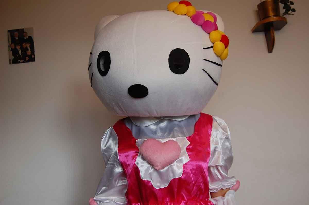 Maskotka Hello Kitty