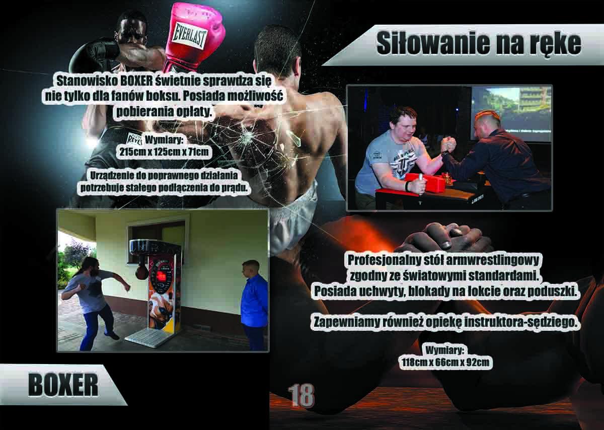 Atrakcja boxer