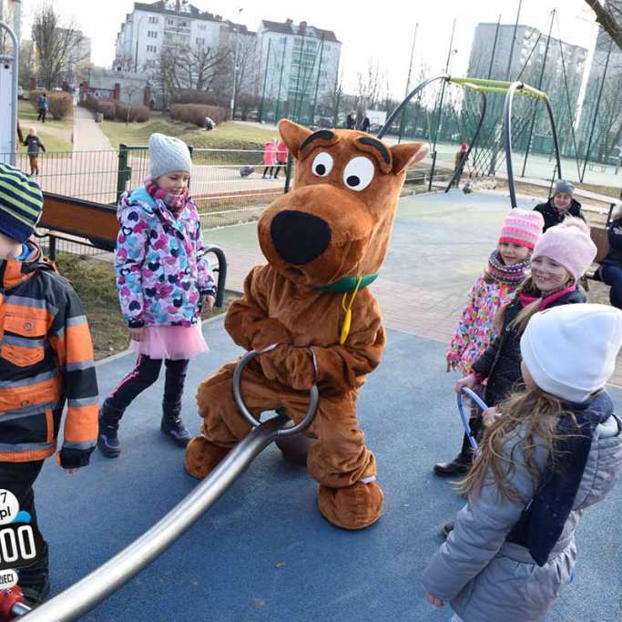 Maskotka Scooby Doo