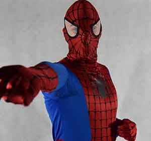 Spiderman na imprezie