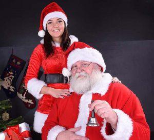Mikołaj z prawdziwą brodą