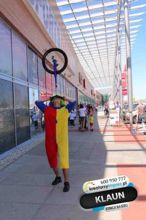 klaun-na-rowerze